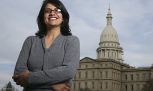 Rashida Tlaib won the Democratic primary in Michigan's 13th congressional district. She is poised to become the first Muslim woman to serve in the Congress.