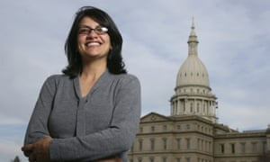 Rashida Tlaib is poised to be one of the first Muslim women to be elected in Congress.