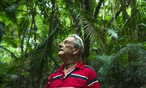 POUSO DE ROCHEDO, BRAZIL - MARCH 04, 2017: Antonio Vicente. He has spent the last 40 years reforesting his land, bringing life back to an area that was razed for cattle grazing.