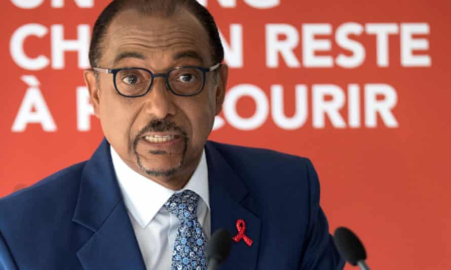 Michel Sidibé, the executive director of UNAids