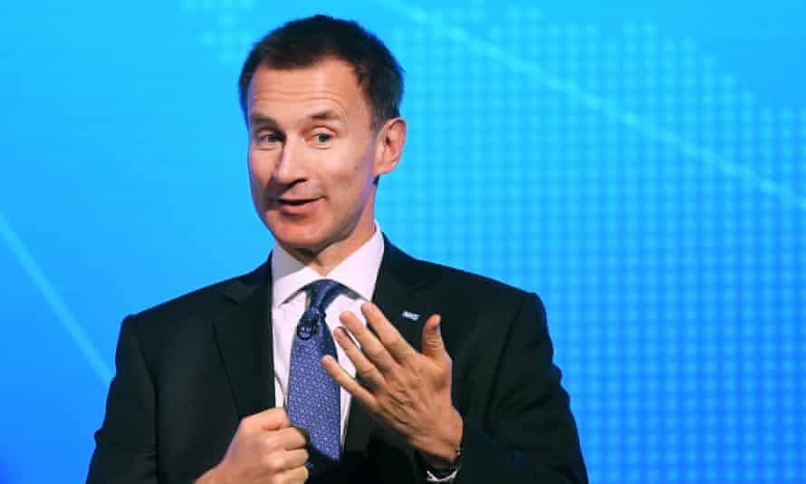 Jeremy Hunt at Patient Safety summit in London