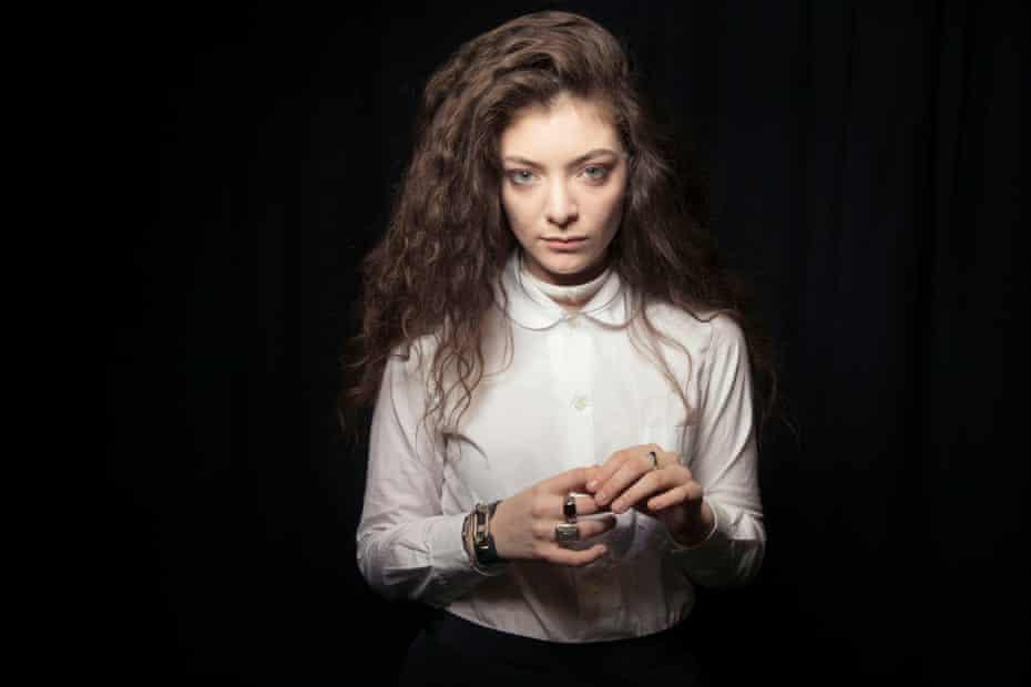 New Zealand singer Lorde, AKA Ella Yelich-O'Connor, in 2013.