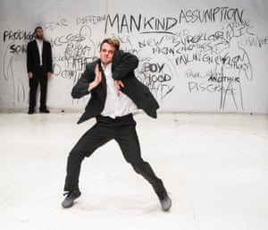 James Rye in Shut Down by Vincent Dance Theatre at the Place in London