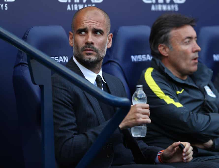 Pep Guardiola had strong words for Dimitri Seluk.