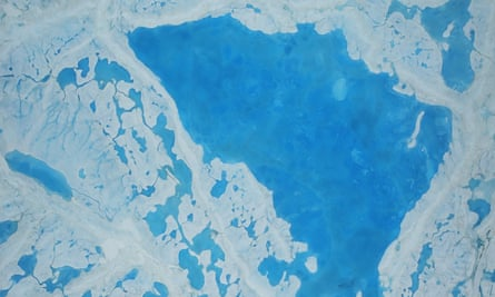 Nasa image of sea ice