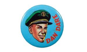 Dan Dare pin badge