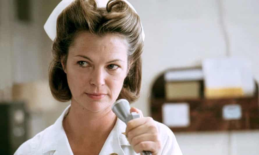 Louise Fletcher as Nurse Ratched in the 1975 film of One Flew Over the Cuckoo's Nest.