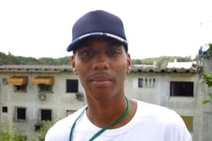 Jonas Nascimento, a volunteer with Urban Health Programme