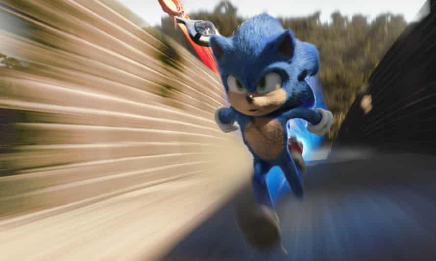 Feels like a rush job … Sonic the Hedghog.