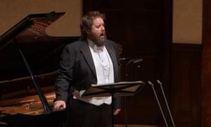 Britten gala, Wigmore Hall, London