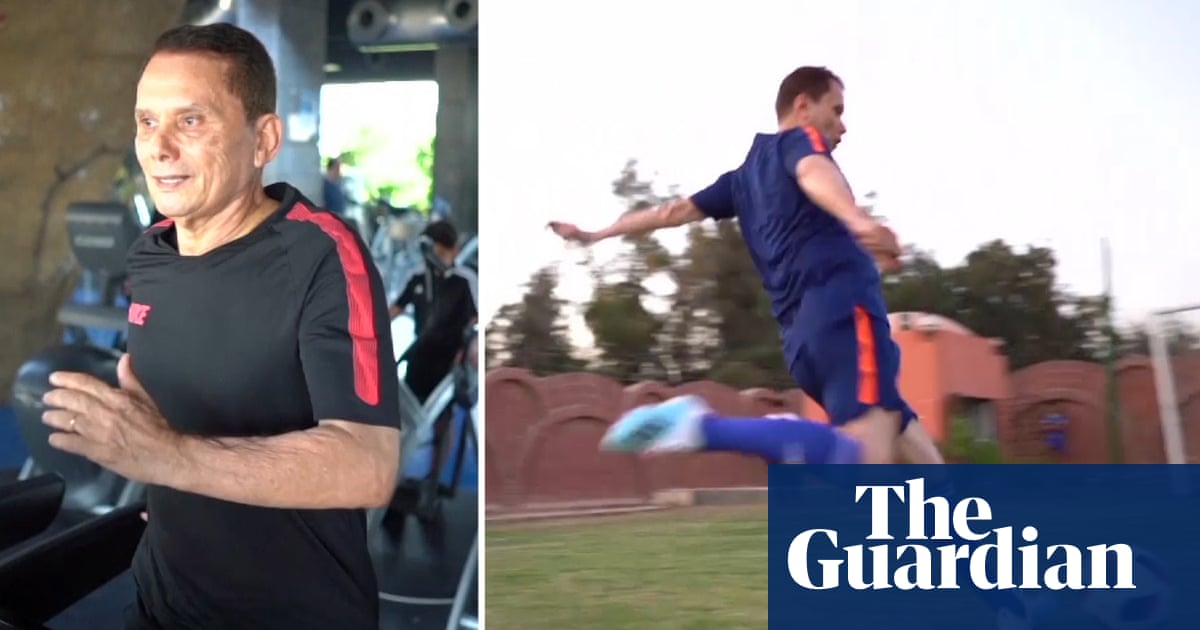 Meet Eez Eldin Bahder, 74, the worlds oldest professional footballer – video report