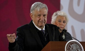 Amlo told reporters: 'I fight for ideals, for principles.'