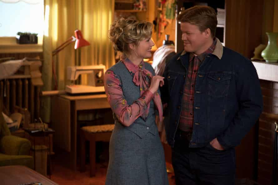Kirsten Dunst as Peggy Blumquist and Jesse Plemons as Ed Blumquist in Fargo: set to lose to The People vs OJ Simpson