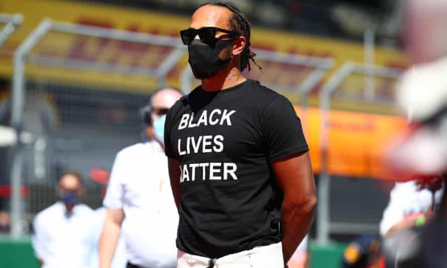 Lewis Hamilton, BLM