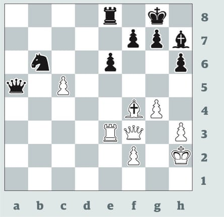 3525: Magnus Carlsen v Ian Nepomniachtchi. Can you spot the world champion's plausible choice for White, and why it proved a horrific error?