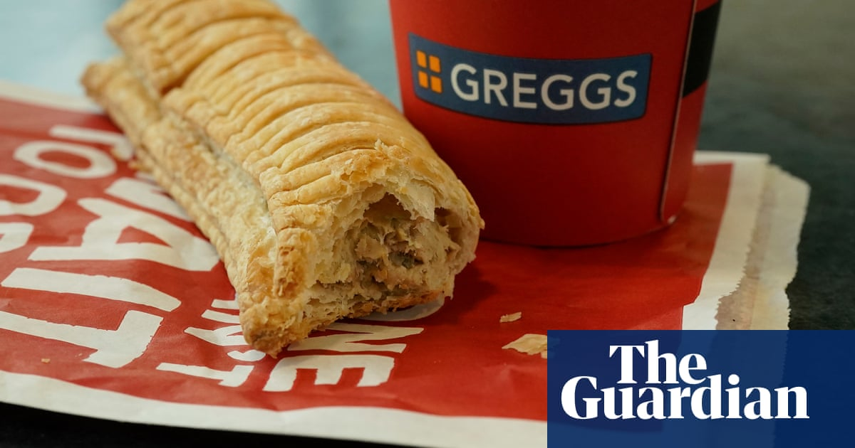 Greggs to develop vegan versions of all its bestselling foods