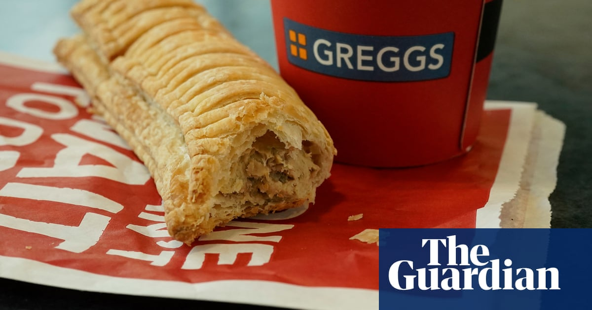 Success of vegan sausage roll gives Greggs surge in sales | Business