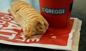 Greggs' vegan sausage roll