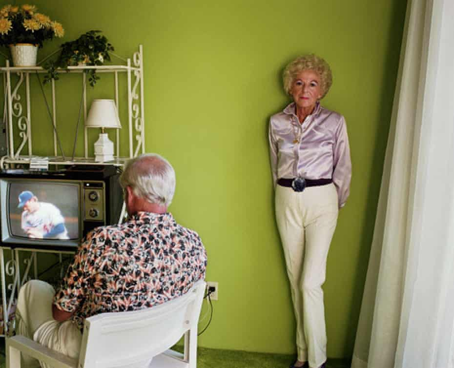 Larry Sultan, My Mother Posing for Me, from the series Pictures From Home, 1984.
