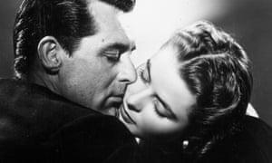 Cary Grant and Ingrid Bergman in Notorious.