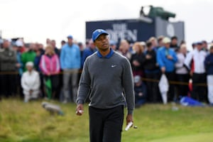 Not going so well for Woods, +6 at the turn home.