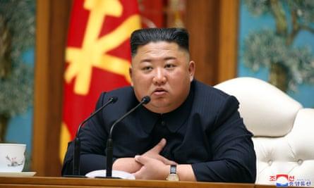 Kim Jong-un at his last public appearance on April 11
