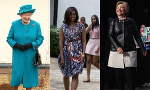 The Queen, Michelle Obama and Hillary Clinton