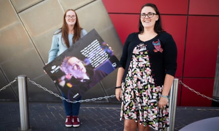 Carers Kerry and Paige