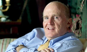 Jack Welch in 2001. His prowess at reducing employee numbers attracted the nickname Neutron Jack, referring to the neutron bomb, which would wipe out people but leave property unharmed.