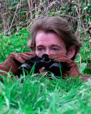 Peter O'Toole in the 1976 film of Rogue Male.