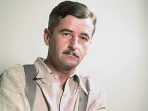 Comical side... William Faulkner pictured in 1938
