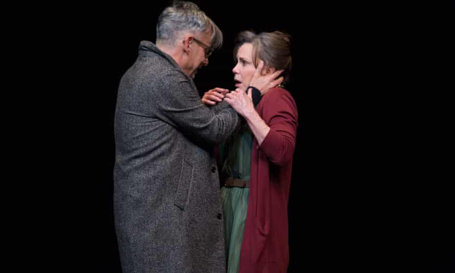 Stealthy emotional force … Joe Mantello and Sally Field