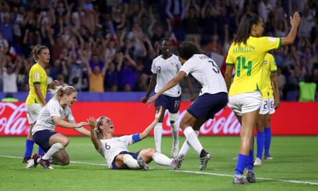 France 2-1 Brazil: Women's World Cup 2019, extra time – as it happened