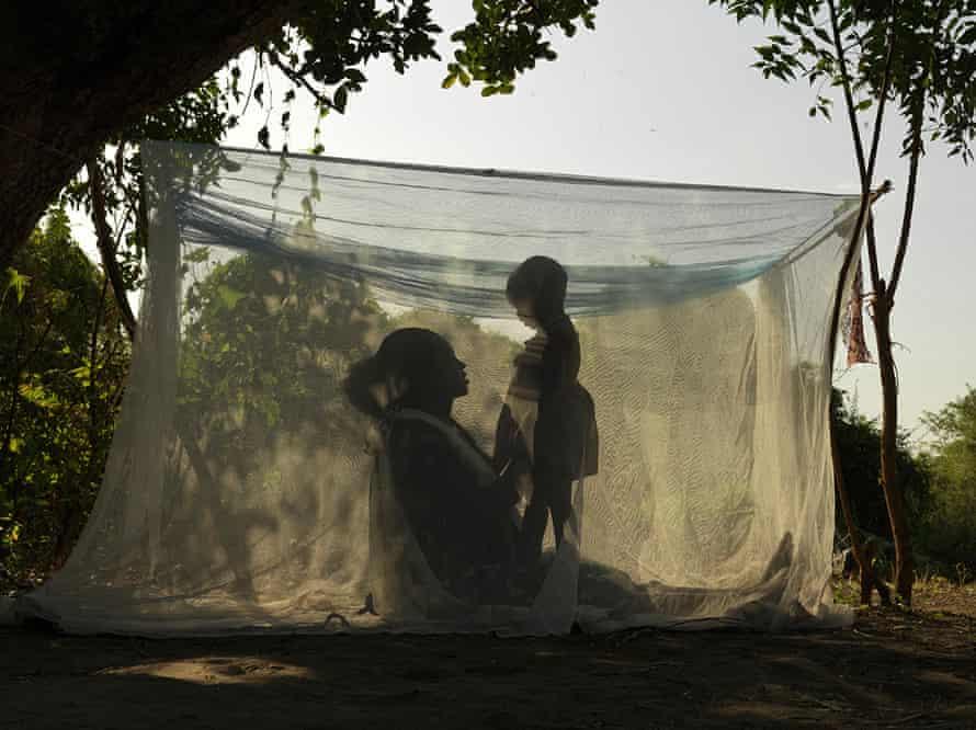 Nyawal Padeng, 20, with her daughter Nyagoa Jal, two