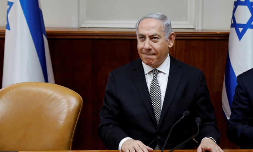 The questioning comes with Netanyahu about to visit Washington.