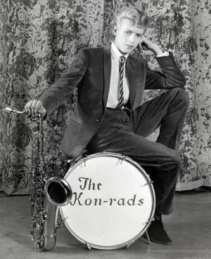 David Bowie in The Kon-rads in 1963