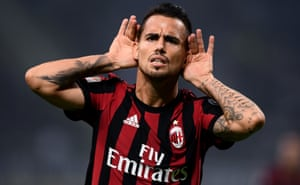 Suso, once of Liverpool reserves, now plays for Milan.
