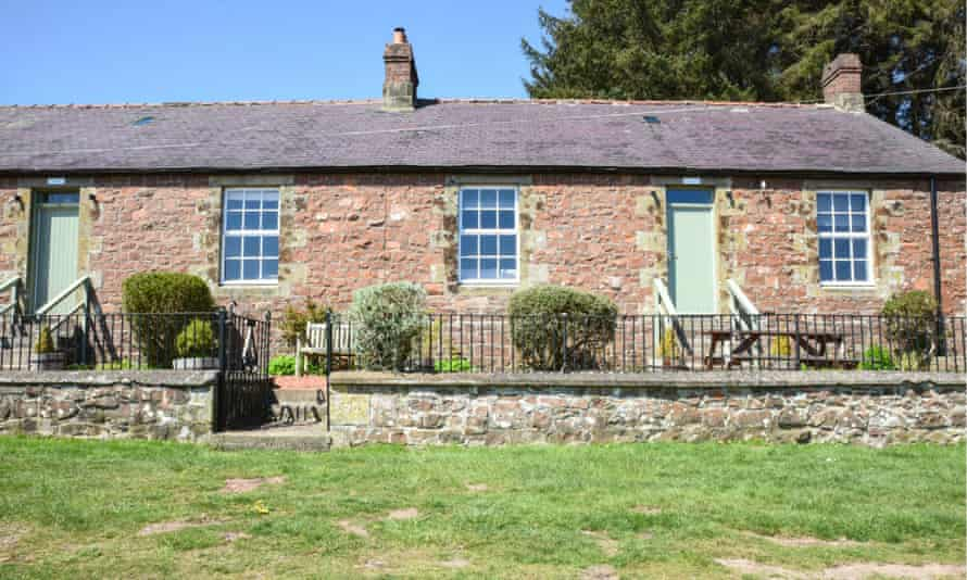'Home to some of England's darkest skies': Chaffinch Cottage, Northumberland.