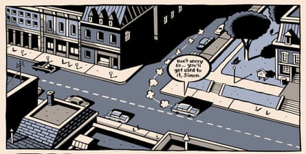 Dominion - the fictional Ontario town that features in Clyde Fans - is the setting for many of Seth's comics.