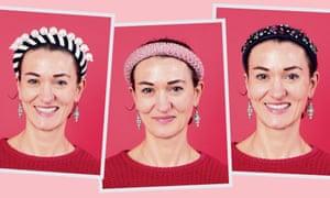 High street headbands from Asos, H&M and Zara