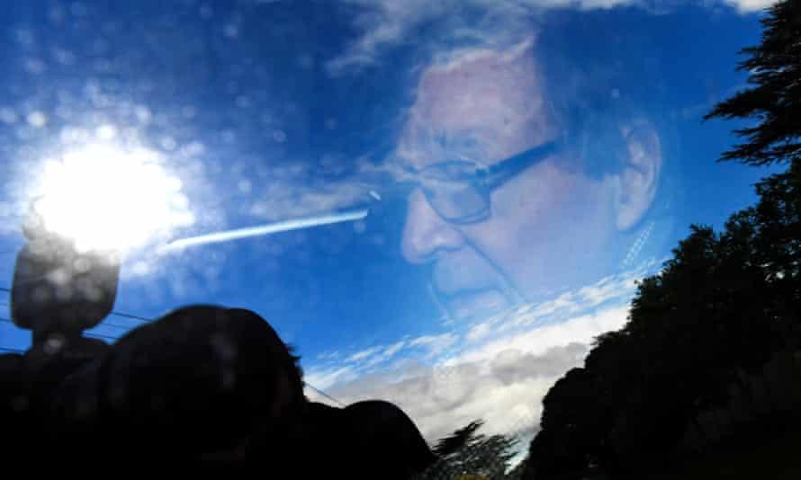 George Pell departs the Carmelite Monastery in Kew, Melbourne