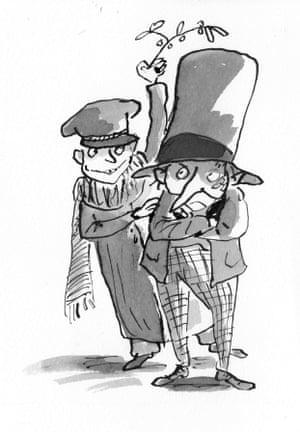 Scrooge in Bah! Humbug! by Michael Rosen.