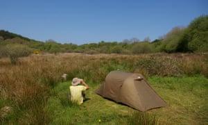 Into The Sticks campsite