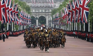 Trooping the colour on the Queen's 90th birthday – in
