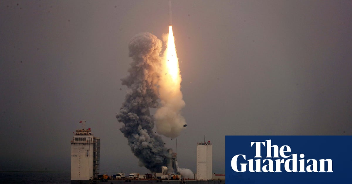 Seed Launching Pad >> China Launches Rocket From Yellow Sea Platform For First Time
