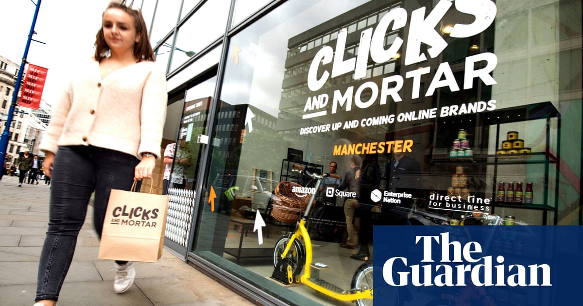 Amazon To Open 10 Pop Up Shops In Uk Town Centres Business The