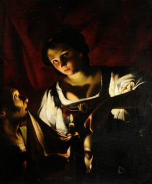 Surprising violence ... Carlo Saraceni's Judith with the Head of Holofernes