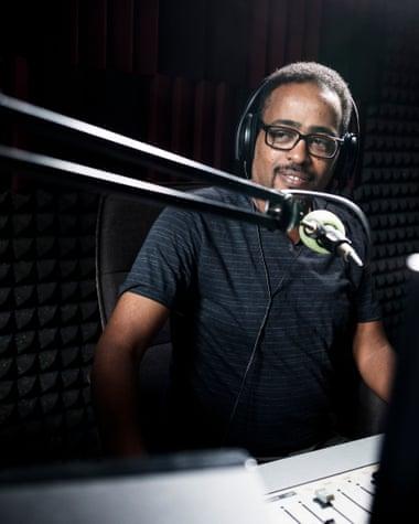 Biniam Simon, Radio Erena
