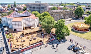 York Theatre and Village by Ant Robling Shakespeare's Rose Theatre, York