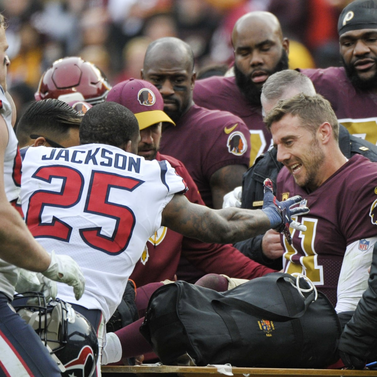 Washington S Alex Smith Battling Infection After Surgery According To Reports Washington The Guardian